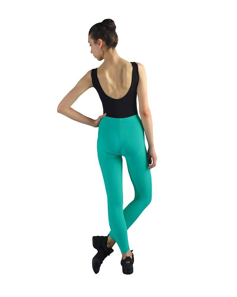 RIU Girls/Womens Seamless High Waist 7/8 LYCRA Leggings (Sea Green)