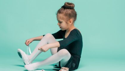 How To Sew Elastics on Ballet Shoes In 15 Steps